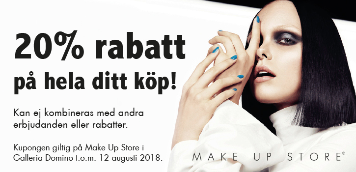 make up store rabatt