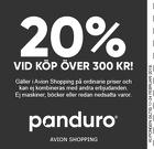 20% vid köp över 300 kr!