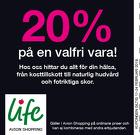 20% på en valfri vara!