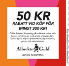 Populära rabattkuponger 50 kr rabatt vid köp för minst 300 kr.