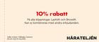10% rabatt på alla klippningar, Lashlift och Browlift