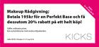 Makeup Rådgivning 195 kr + 20% rabatt!