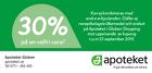 Populära rabattkuponger 30% på en valfri vara!