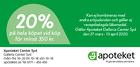Populära rabattkuponger 20% rabatt vid köp för minst 350 kr