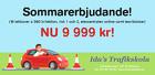 Körkortspaket 9 999 kr!
