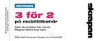 Populära rabattkuponger 3 för 2 på hela Linocellsortimentet