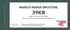 Mango Mania Smoothie 39kr