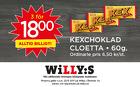 Populära rabattkuponger Kexchoklad 3 för 18 kr!