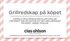 Populära rabattkuponger Grillredskapset på köpet!