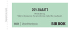 Populära rabattkuponger 20% rabatt på hela ditt köp.