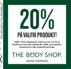 20%  på valfri produkt!