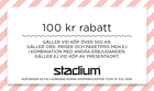 Populära rabattkuponger 100 kr rabatt vid köp över 500 kr!