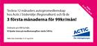 Populära rabattkuponger 3 första månaderna för 99kr/månad!