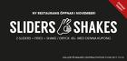 Populära rabattkuponger 2 sliders + fries + shake/dryck 85:-