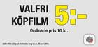 Valfri köpfilm 5 kr!
