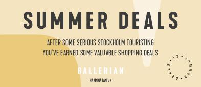 Gallerian Stockholm